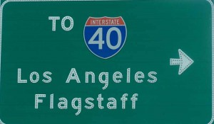 verkeersbord in los angeles